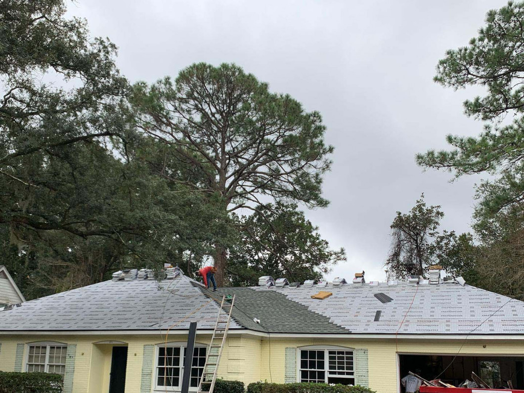 Trust the storm damage roof repair specialists